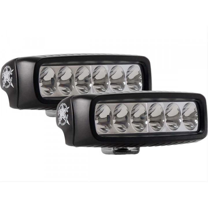 Rigid Industries 91531H - SR-Q2 Series High/Low Driving LED Light - (Surface Mount) - (Set of 2)