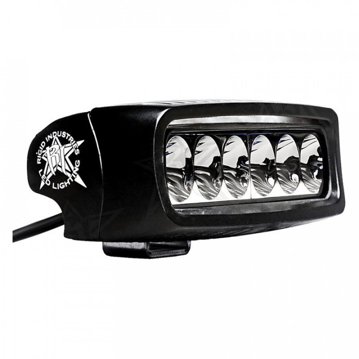 Rigid Industries 91639 - SR-Q2-Series, Single Row Driving LED Light, 5 in., 6 LEDs