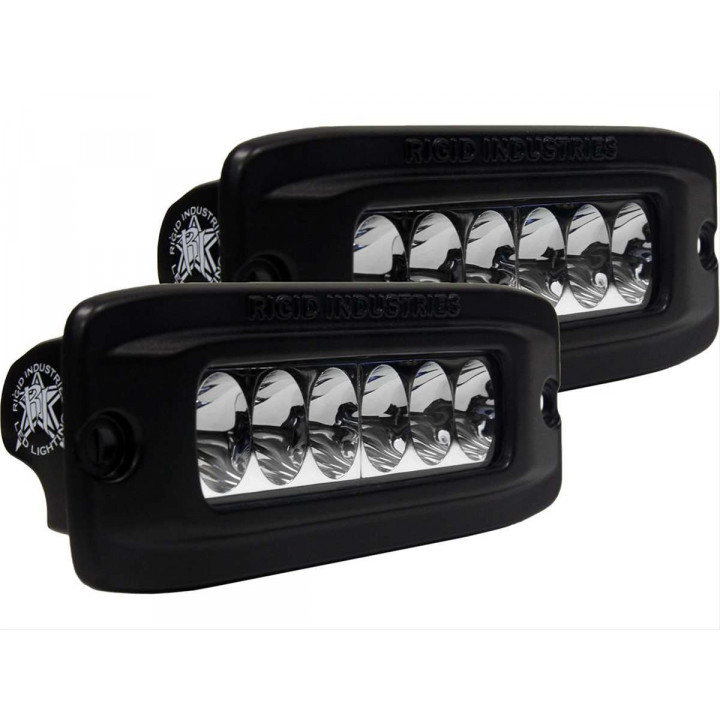 Rigid Industries 93531H - SR-Q2 Series High/Low Driving LED Light - (Flush Mount) - (Set of 2)