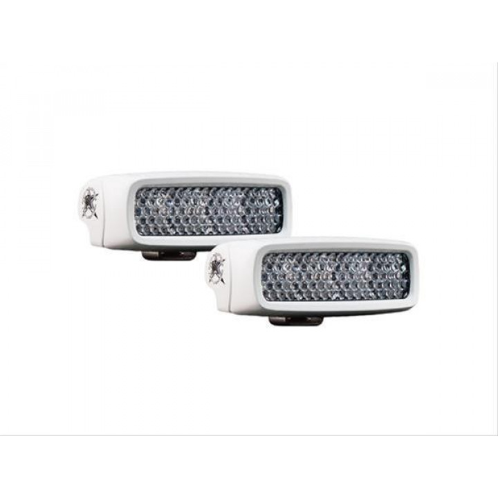 Rigid Industries 94550 - SR-Q RGB Marine Diffused LED Light - (Set Of 2)