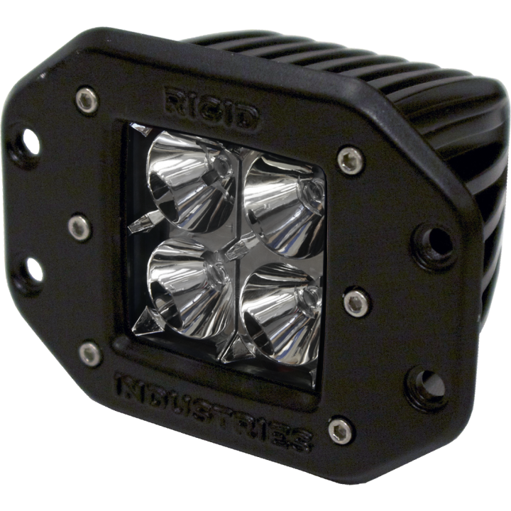 Rigid Industries 21111 - Dually - Flush Mount - Flood - Single