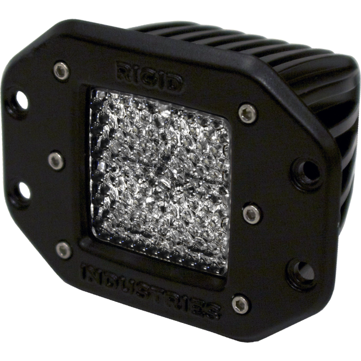Rigid Industries 21151 - Dually - Flush Mount - 60 Deg. Lens - Single