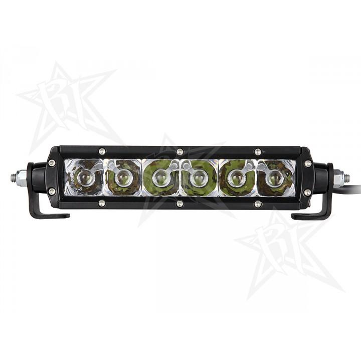 """Rigid Industries 90632 - 6"""" SR-Series - Spot/Flood Combo - Amber"""