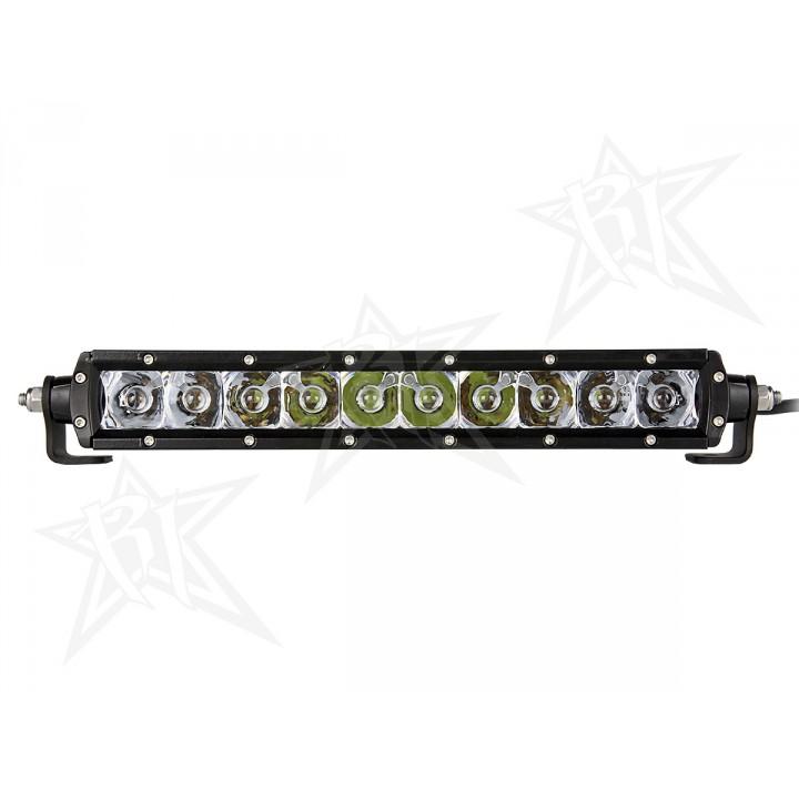 """Rigid Industries 91032 - 10"""" SR-Series - Spot/Flood Combo - Amber"""