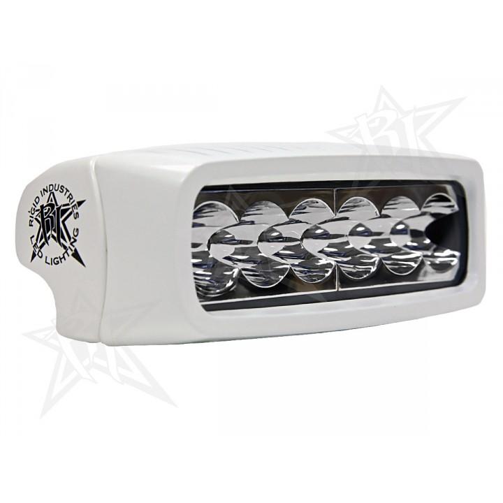 Rigid Industries 95511 - MSR-Q2 -Wide -White - Set of 2