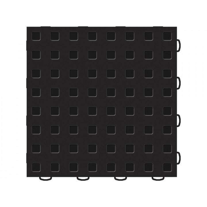 WeatherTech 51T1212 BK-BK - TechFloor - Garage Floor Tile - (Black/Black) - (12 in. x 12 in.) - (Pack of 10)