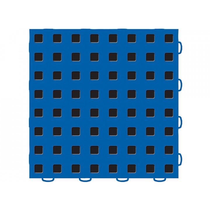 WeatherTech 51T1212 BL-BK - TechFloor - Garage Floor Tile - (Blue/Black) - (12 in. x 12 in.) - (Pack of 10)