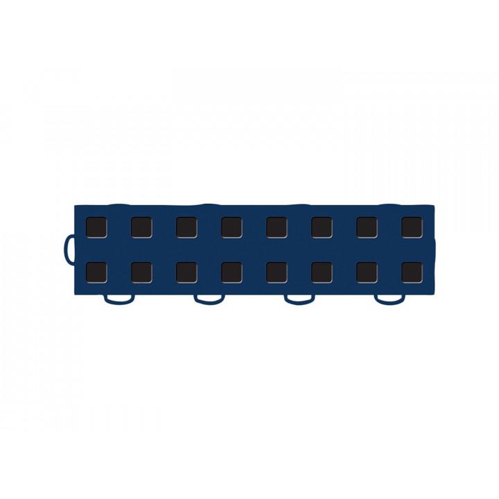 WeatherTech 51T312LL NB-BK - TechFloor - Garage Floor Tile - (Navy Blue/Black) - (Interlocking - Left Loop) - (3 in. x 12 in.) - (Pack of 10)