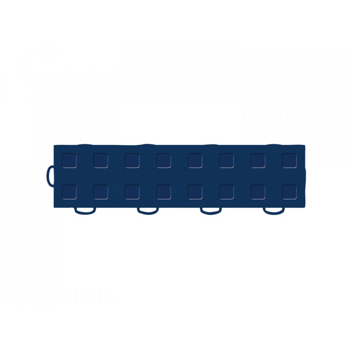 WeatherTech 51T312LL NB-NB - TechFloor - Garage Floor Tile - (Navy Blue/Navy Blue) - (Interlocking - Left Loop) - (3 in. x 12 in.) - (Pack of 10)