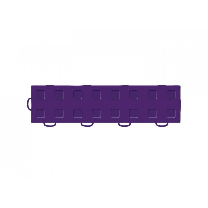 WeatherTech 51T312LL PU-PU - TechFloor - Garage Floor Tile - (Purple/Purple) - (Interlocking - Left Loop) - (3 in. x 12 in.) - (Pack of 10)