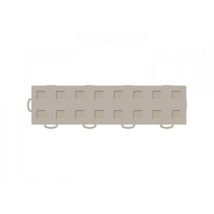 WeatherTech 51T312LL TN-TN - TechFloor - Garage Floor Tile - (Tan/Tan) - (Interlocking - Left Loop) - (3 in. x 12 in.) - (Pack of 10)