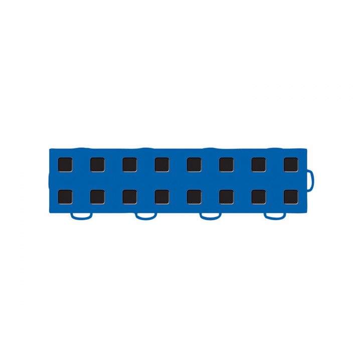 WeatherTech 51T312RL BL-BK - TechFloor - Garage Floor Tile - (Blue/Black) - (Interlocking - Right Loop) - (3 in. x 12 in.) - (Pack of 10)