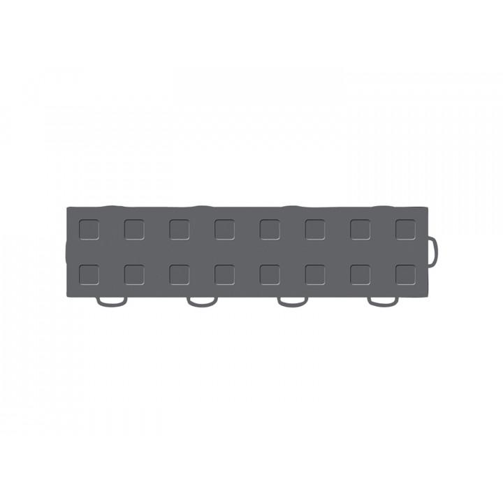 WeatherTech 51T312RL DG-DG - TechFloor - Garage Floor Tile - (Dark Gray/Dark Gray) - (Interlocking - Right Loop) - (3 in. x 12 in.) - (Pack of 10)