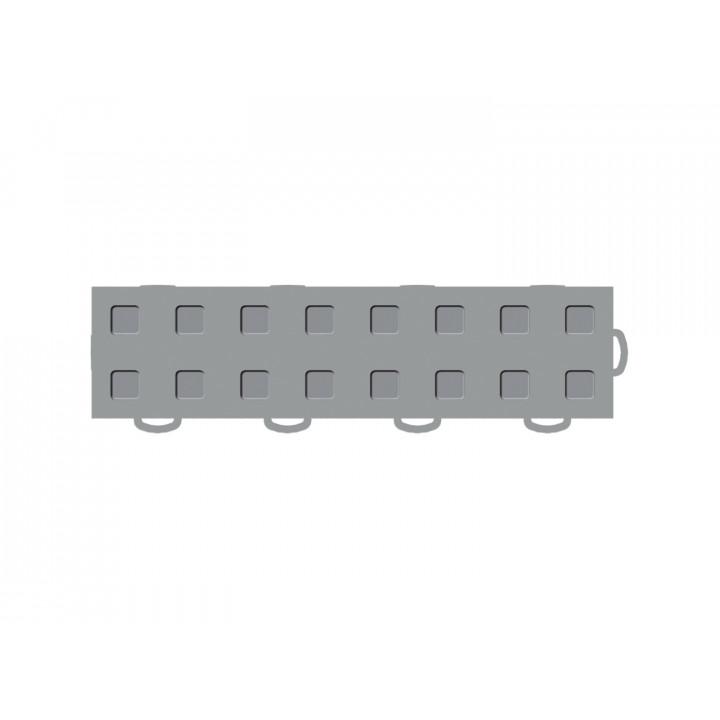 WeatherTech 51T312RL GR-GR - TechFloor - Garage Floor Tile - (Gray/Gray) - (Interlocking - Right Loop) - (3 in. x 12 in.) - (Pack of 10)