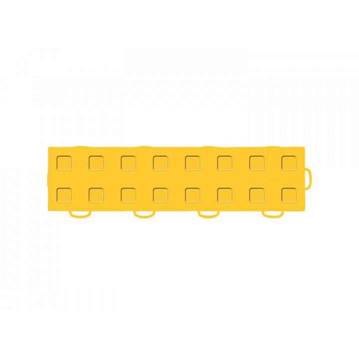 WeatherTech 51T312RL GY-GY - TechFloor - Garage Floor Tile - (Golden Yellow/Golden Yellow) - (Interlocking - Right Loop) - (3 in. x 12 in.) - (Pack of 10)