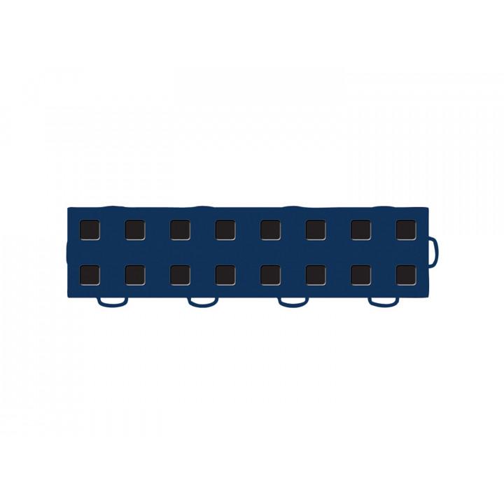 WeatherTech 51T312RL NB-BK - TechFloor - Garage Floor Tile - (Navy Blue/Black) - (Interlocking - Right Loop) - (3 in. x 12 in.) - (Pack of 10)