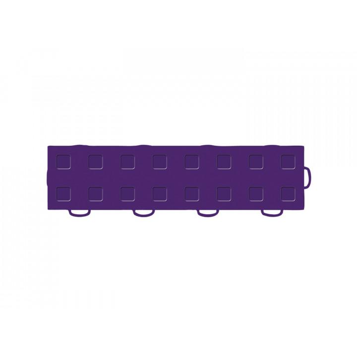 WeatherTech 51T312RL PU-PU - TechFloor - Garage Floor Tile - (Purple/Purple) - (Interlocking - Right Loop) - (3 in. x 12 in.) - (Pack of 10)
