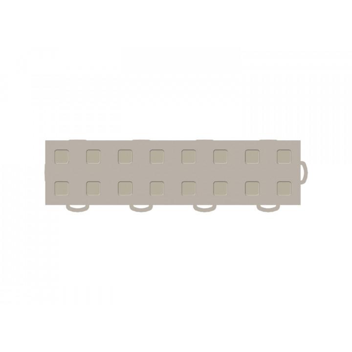 WeatherTech 51T312RL TN-TN - TechFloor - Garage Floor Tile - (Tan/Tan) - (Interlocking - Right Loop) - (3 in. x 12 in.) - (Pack of 10)