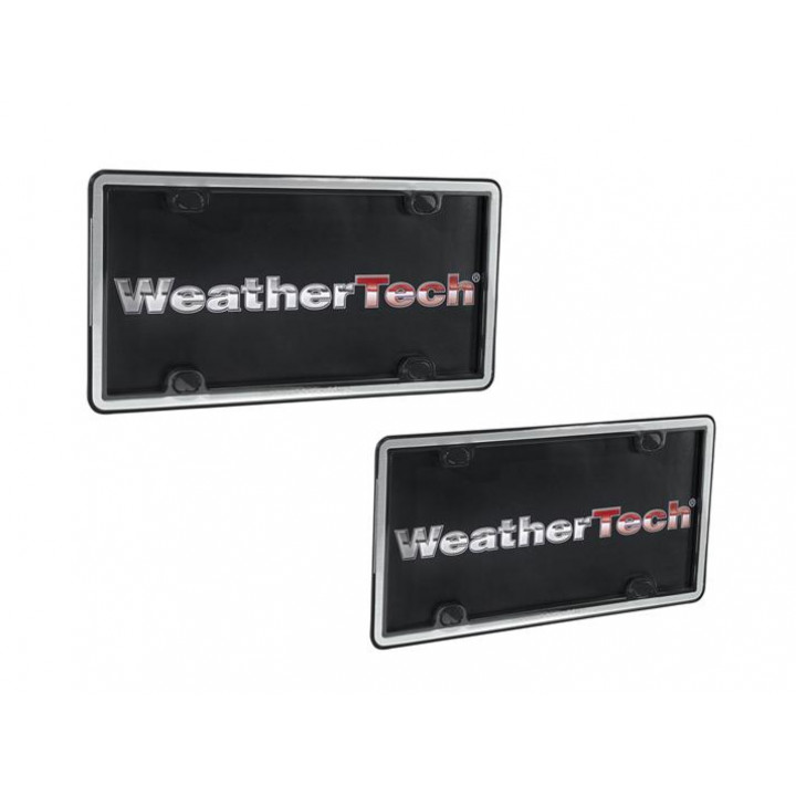 WeatherTech 63027 - Clearframe - Accessory - Brushed Stainless