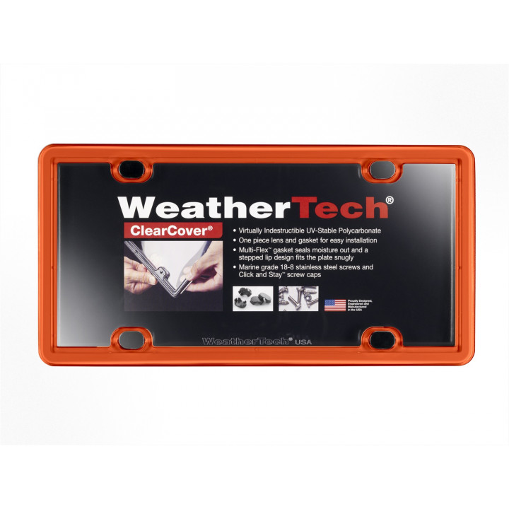 WeatherTech 8ALPCC13 - Clearcover - Accessory - Orange