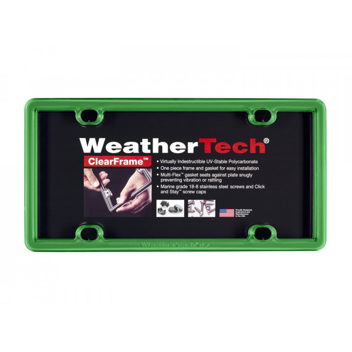 WeatherTech 8ALPCF11 - Clearframe - Accessory - Kelly Green