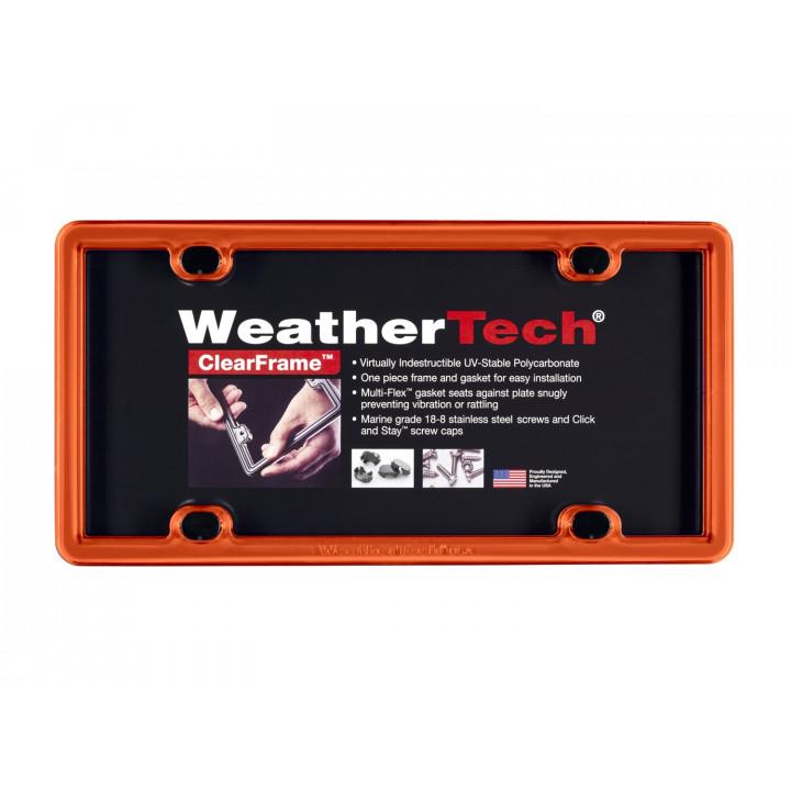 WeatherTech 8ALPCF13 - Clearframe - Accessory - Orange