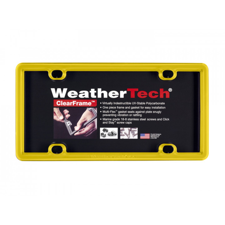 WeatherTech 8ALPCF14 - Clearframe - Accessory - Yellow