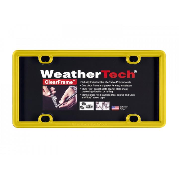 WeatherTech 8ALPCF14 - Clearframe - Accessory - Yellow