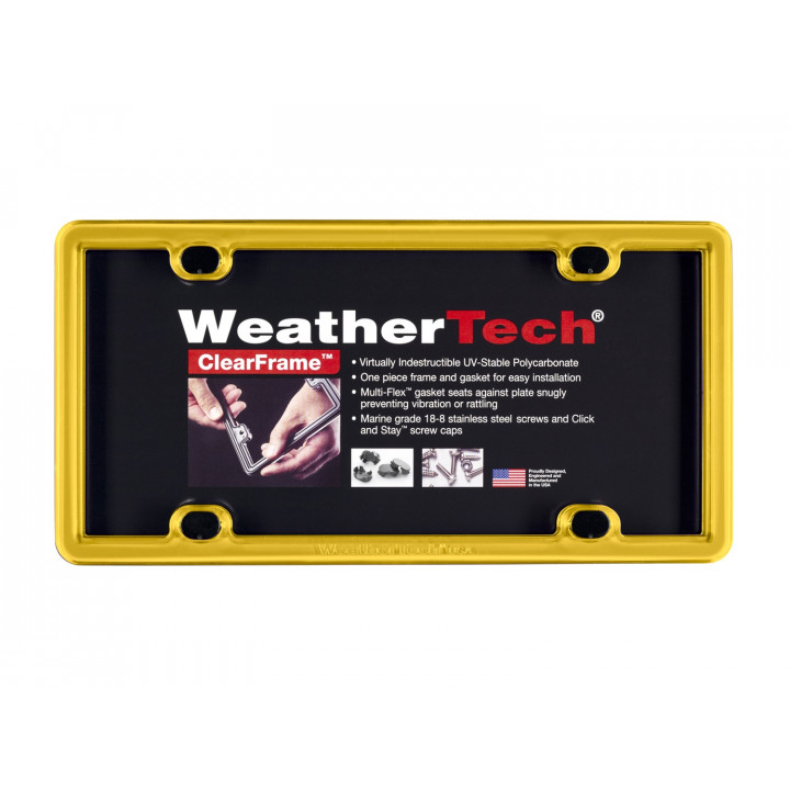 WeatherTech 8ALPCF17 - Clearframe - Accessory - Golden Yellow