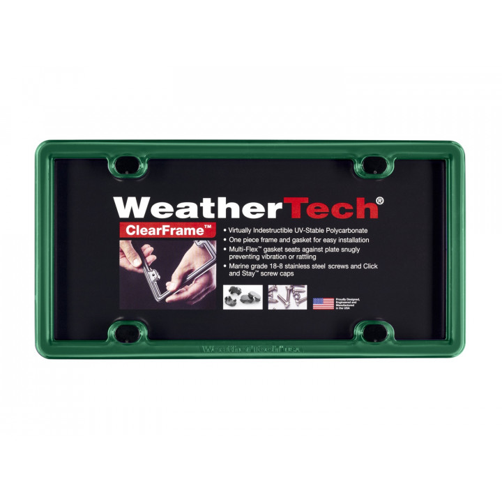 WeatherTech 8ALPCF18 - Clearframe - Accessory - Green