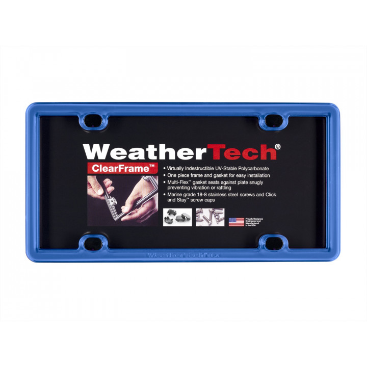 WeatherTech 8ALPCF21 - Clearframe - Accessory - Blue