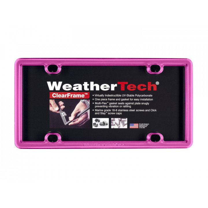 WeatherTech 8ALPCF3 - Clearframe - Accessory - Hot Pink