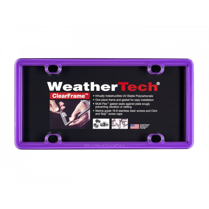 WeatherTech 8ALPCF5 - Clearframe - Accessory - Purple
