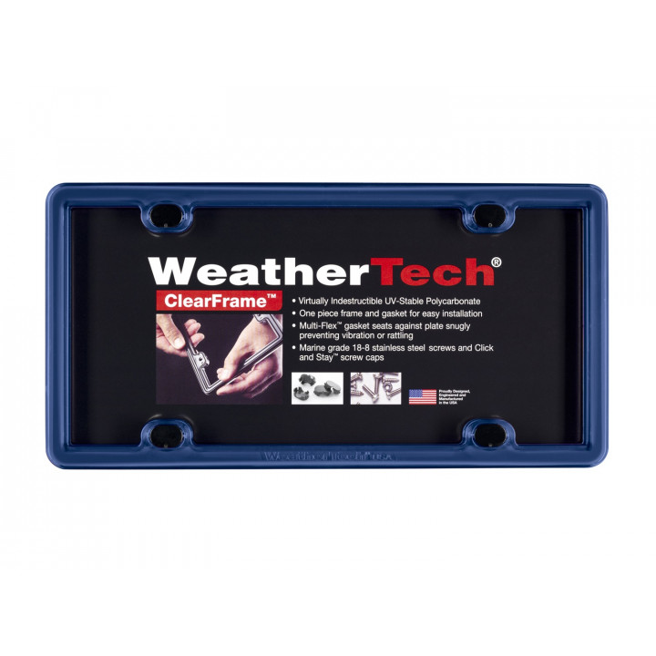 WeatherTech 8ALPCF7 - Clearframe - Accessory - Navy Blue