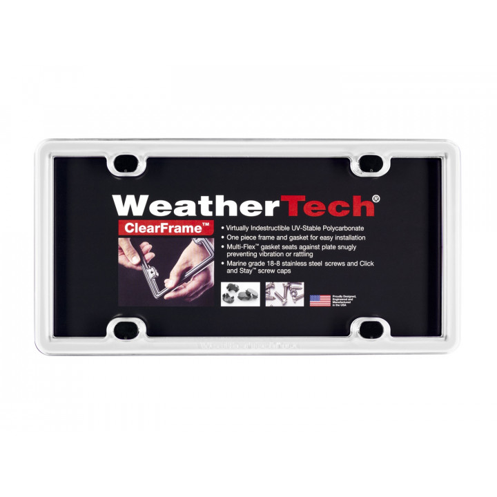 WeatherTech 8ALPCF8 - Clearframe - Accessory - White