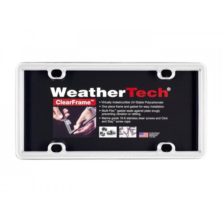 WeatherTech 8ALPCF8 - Clearframe - Accessory - White
