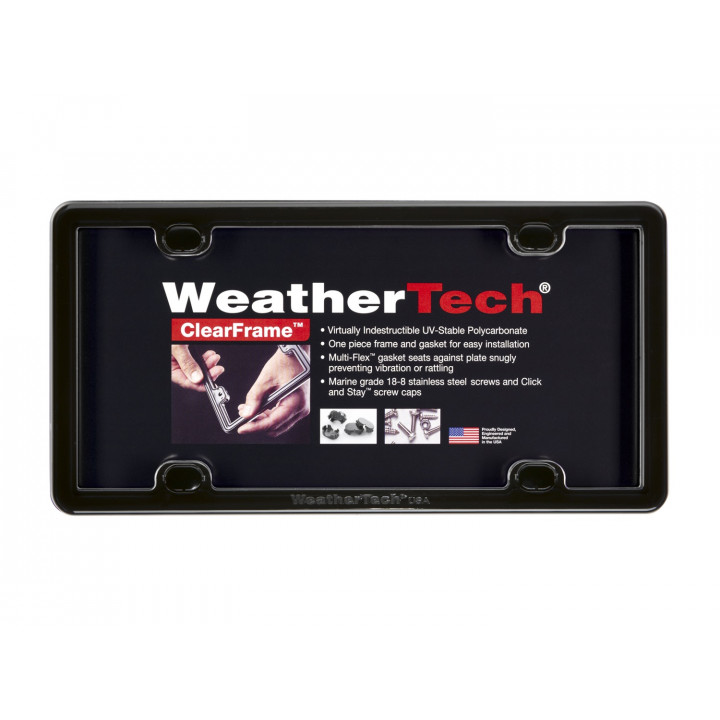 WeatherTech 63020 - Clearframe - Accessory - Black
