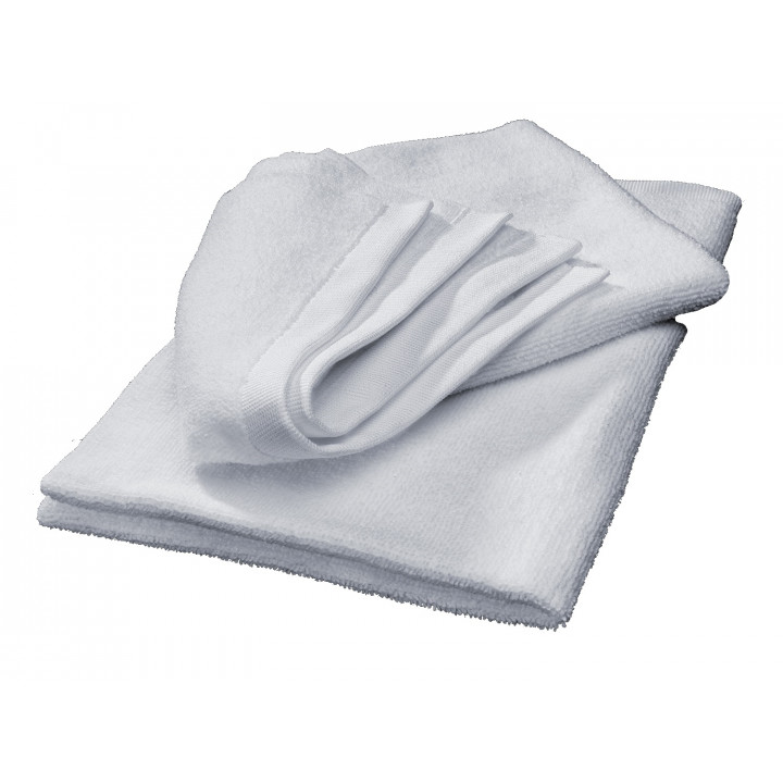WeatherTech 8AWCC2 - Microfiber Finishing Cloth/Quick Detailer - White