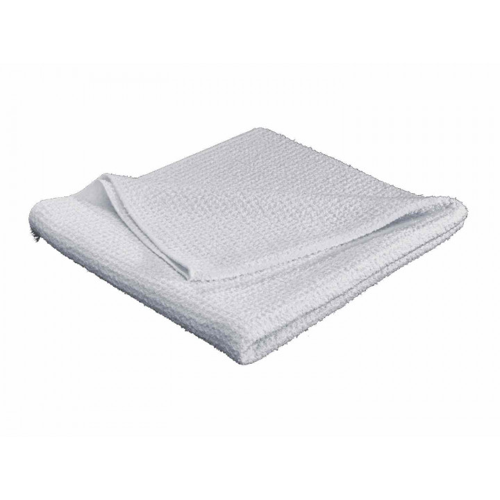 WeatherTech 8AWCC3 - Microfiber Waffle Weave Drying Towel - White