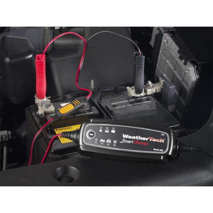 WeatherTech 8BWBCHR200 - SmartCharge Battery Charger - (12 Volt Batteries)