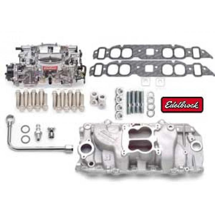 Edelbrock 2061 - Performer Intake Manifold and Carburetor Kits