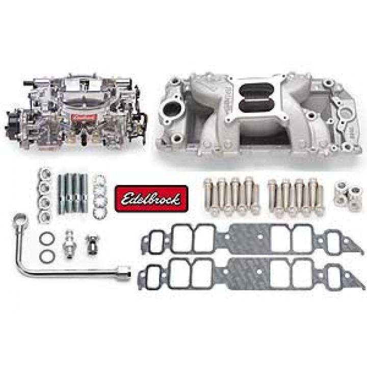 Edelbrock 2064 - Performer RPM Air-Gap Intake Manifold and Carburetor Kits