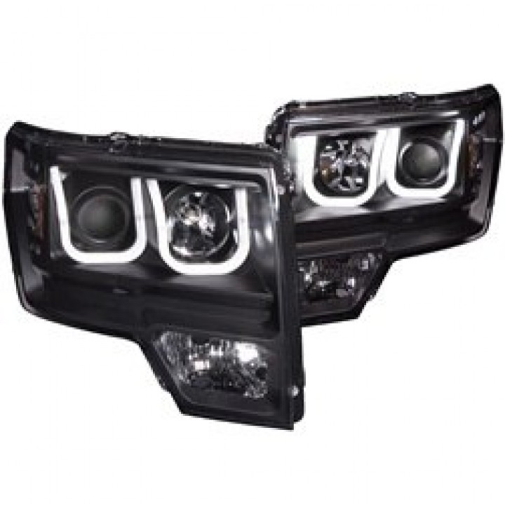 Anzo U-Bar Projector Headlights