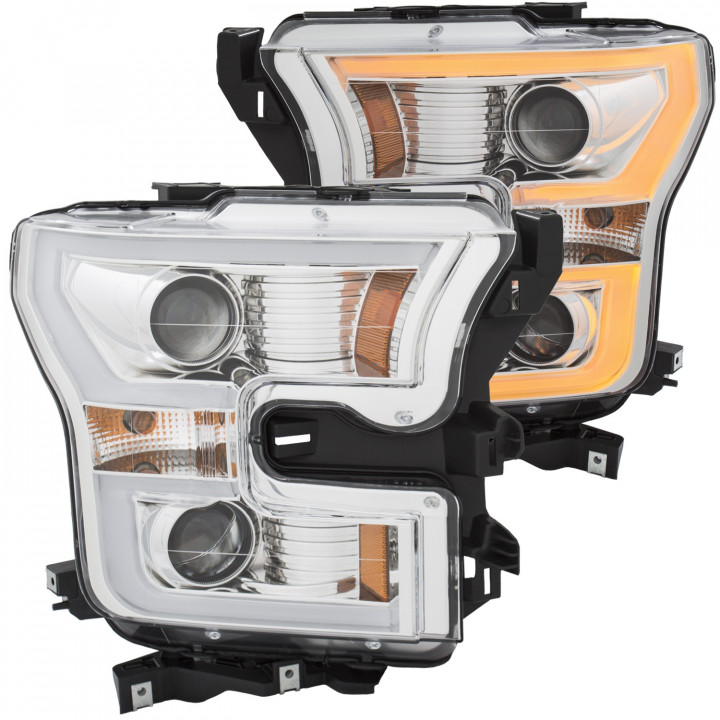 Anzo Chrome Projector Headlights