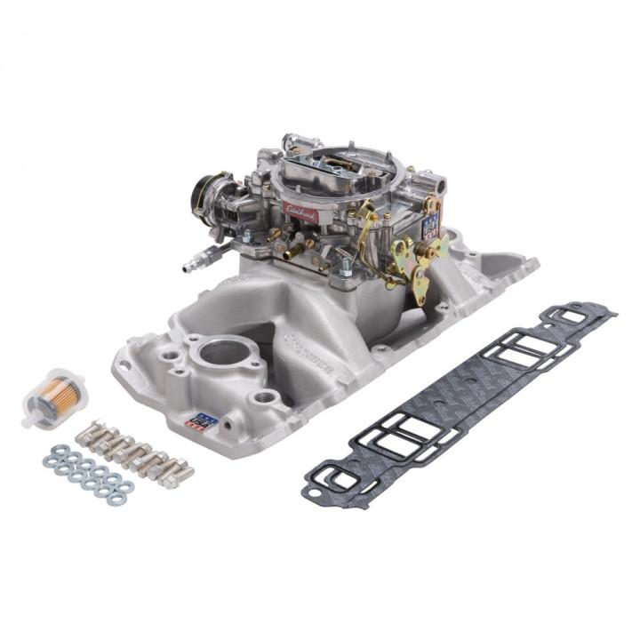 Edelbrock 2020 - Performer Air-Gap Intake Manifold and Carburetor Kits
