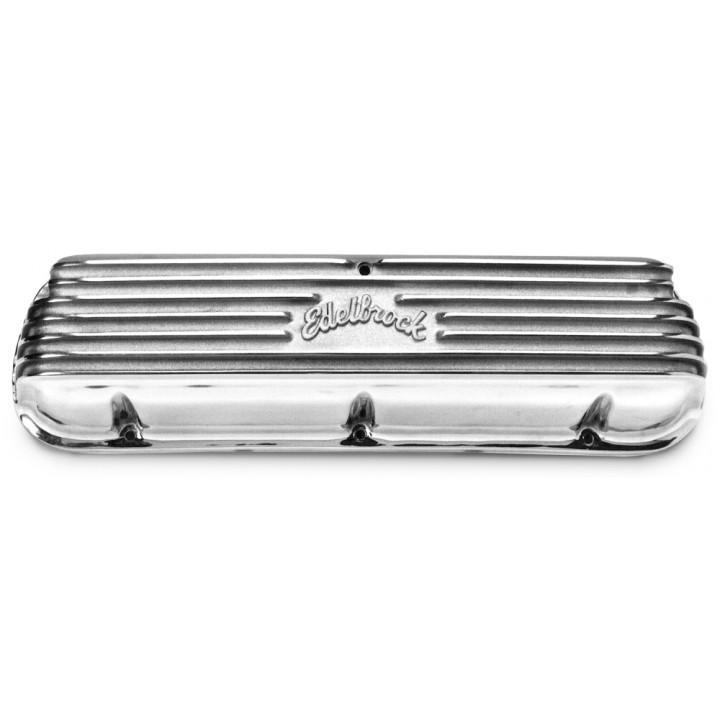 Edelbrock 4160 - Classic Cast Aluminum Valve Covers