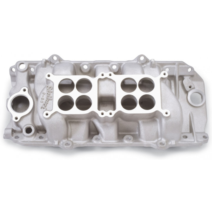 Edelbrock 5420 - C-66-O Dual Quad Intake Manifolds