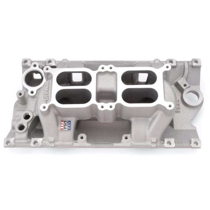 Edelbrock 7526 - Performer RPM Dual-Quad Air-Gap Intake Manifolds