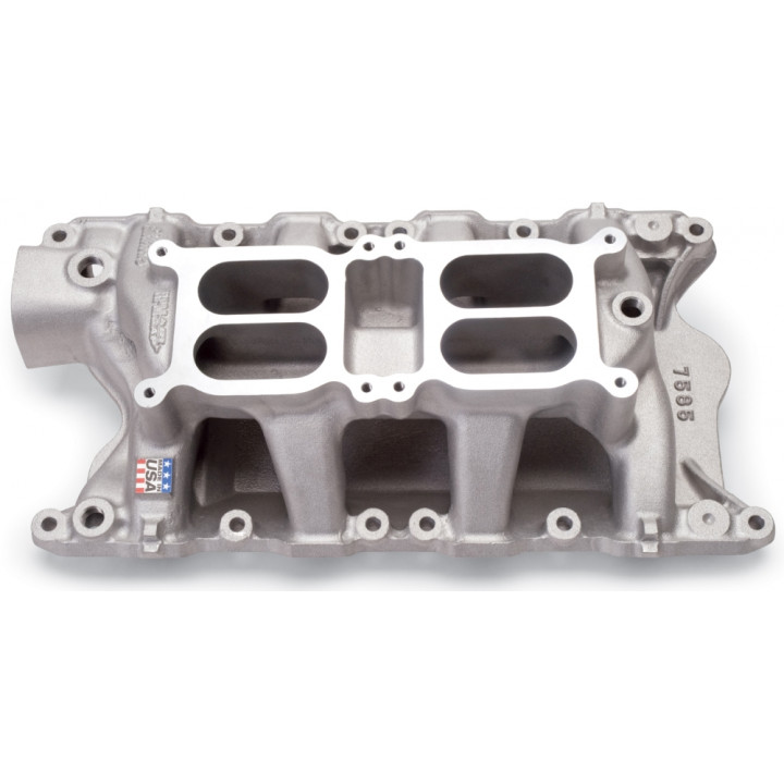 Edelbrock 7585 - Performer RPM Dual-Quad Air-Gap Intake Manifolds