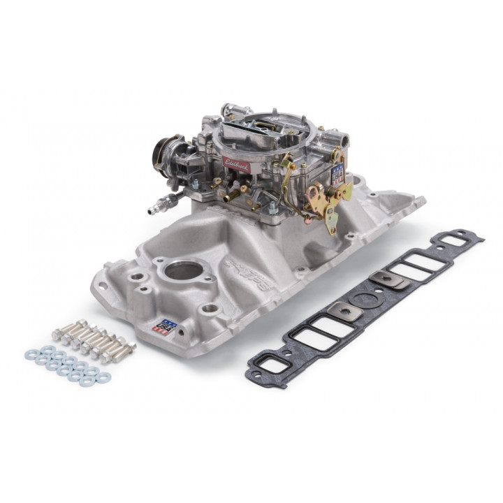 Edelbrock 2021 - Performer EPS Intake Manifold and Carburetor Kits
